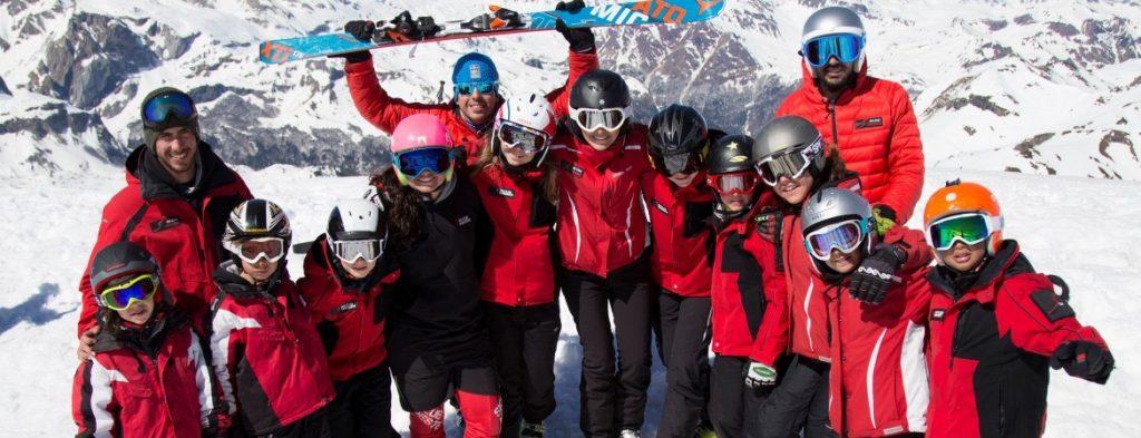 curso monitor club de esquí