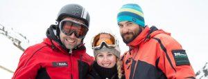 curso de monitor de esquí