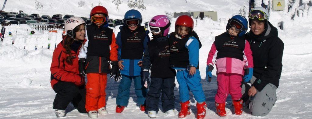comenzar a esquiar