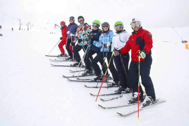 Curso de monitor esqui
