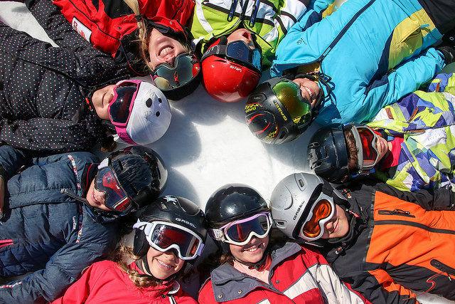 ¿Qué son los cursos de esquí de fin de semana?